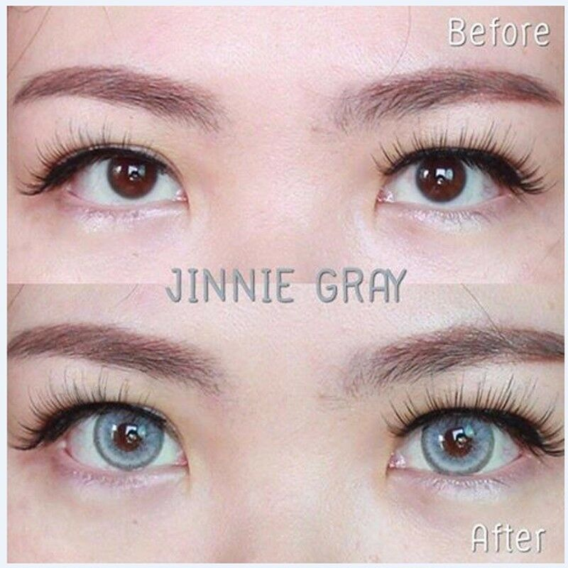 e94623809d3d Kontaktlinsen Contact Lenses KittyKawaii Color Soft Big Eye Lens Jinnie  Gray
