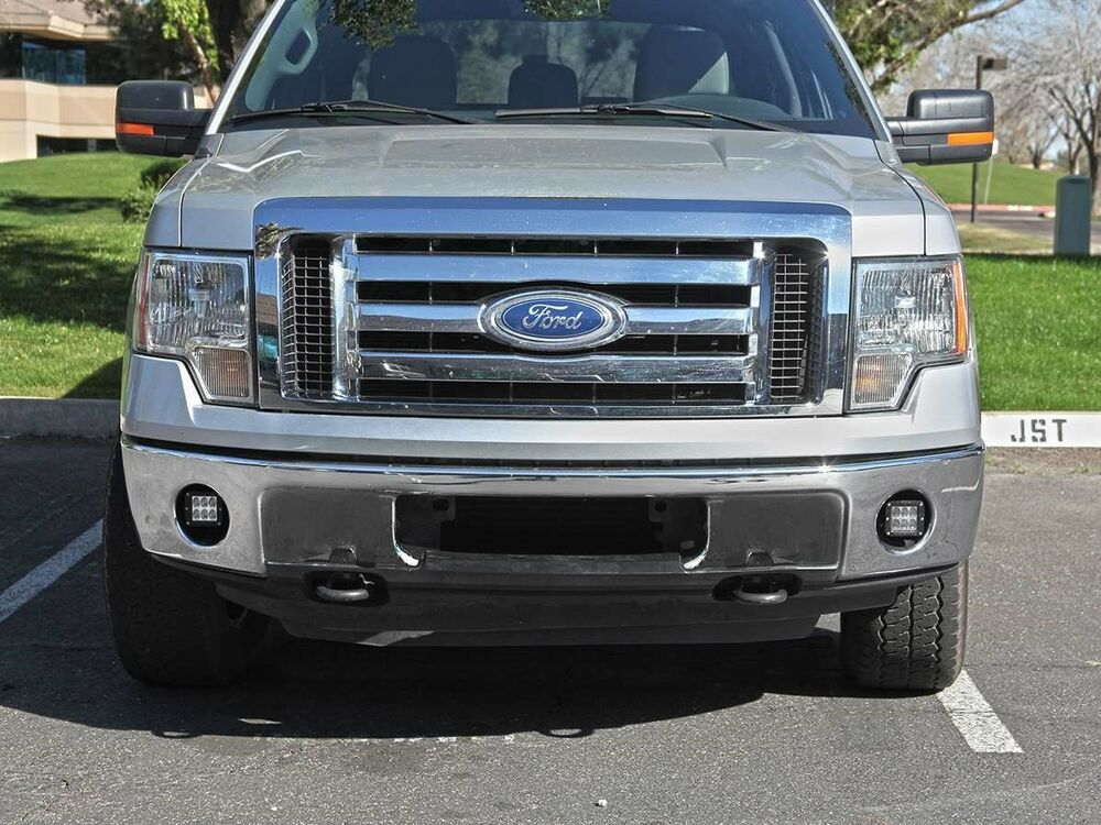2014 F150 Accessories >> 2006-2014 Ford F150 Fog Light Kit with Dually LED Lights & Mount 46527 Rigid | eBay