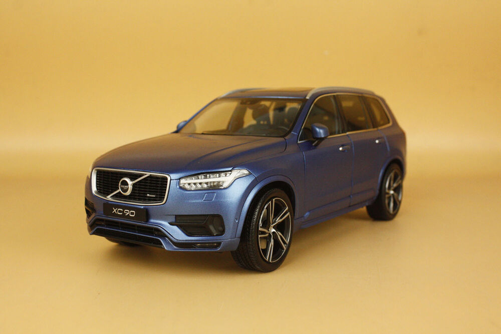 1 18 welly gta all new volvo xc90 sport version blue color gift ebay. Black Bedroom Furniture Sets. Home Design Ideas