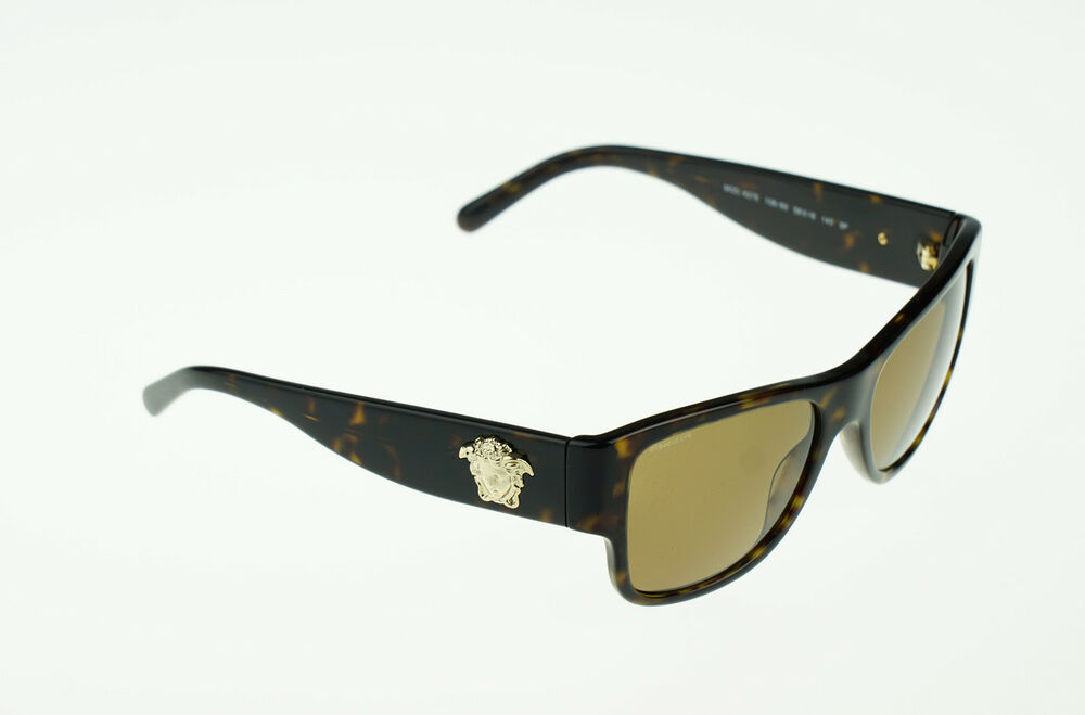 ea05a899fdb5 RARE POLARIZED NEW Genuine VERSACE Medusa Tortoise Sunglasses VE 4275  108 83