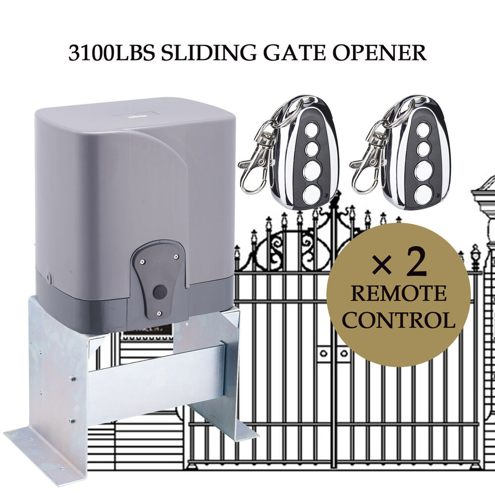 Automatic sliding gate opener driveway lbs remote