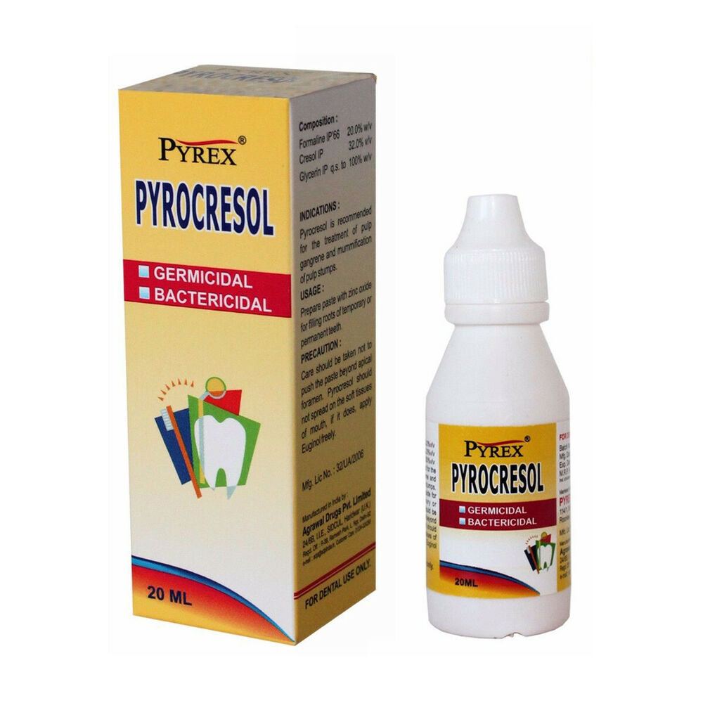 forma formocresol root canal desinfection dental pulp