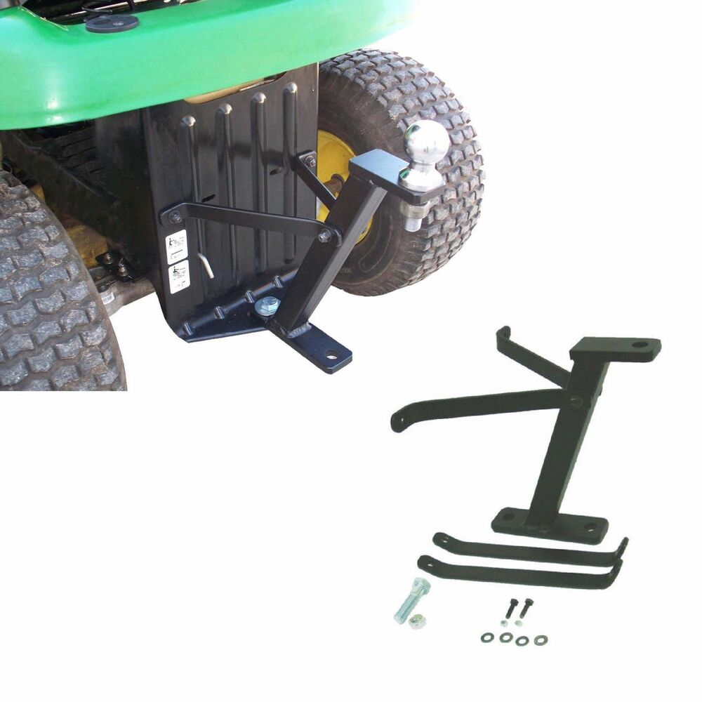 Tractor Tow Hitch : Lawn mower hitch garden tractor lawnmower trailer rear