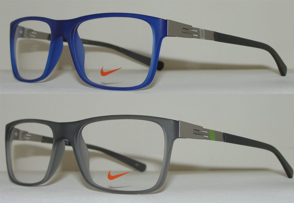 Eyeglass Frame New : NEW NIKE MENS EYEGLASSES 7107 LIGHTWEIGHT FRAME 54-16-140 ...
