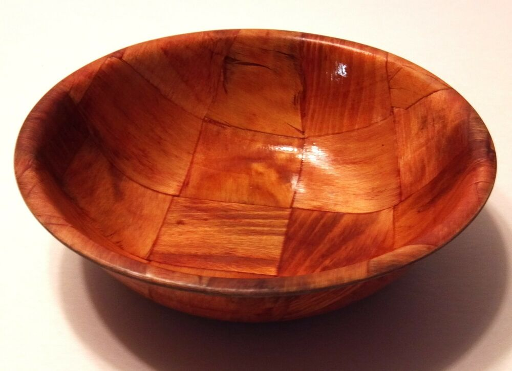 Wooden Bar Bowls ~ Cheers tv show props bar scene round wooden style