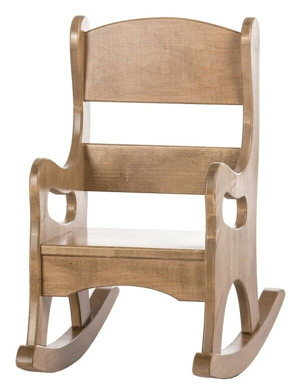 Children s rocking chair amish handmade maple wood
