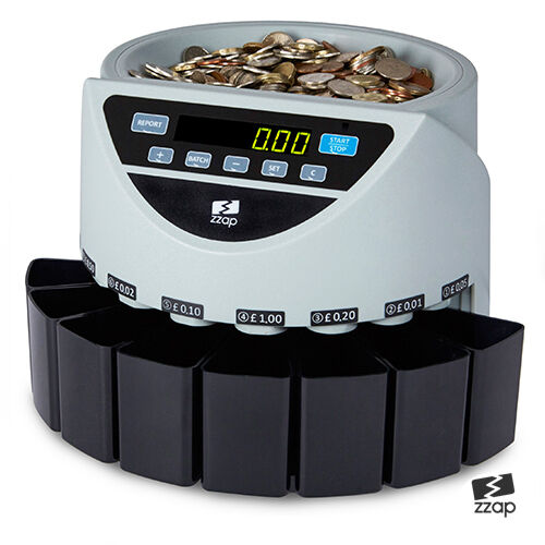 Electronic Money Coin Cash Currency Counter Counting