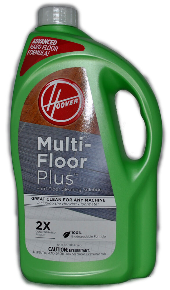 Hoover multi floor plus hard floor cleaning solution 64 fl for Hoover multi floor cleaner