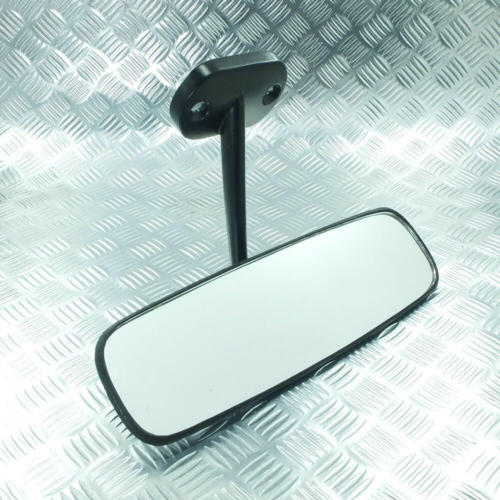 universal rear view mirror windshield mount classic car ebay. Black Bedroom Furniture Sets. Home Design Ideas
