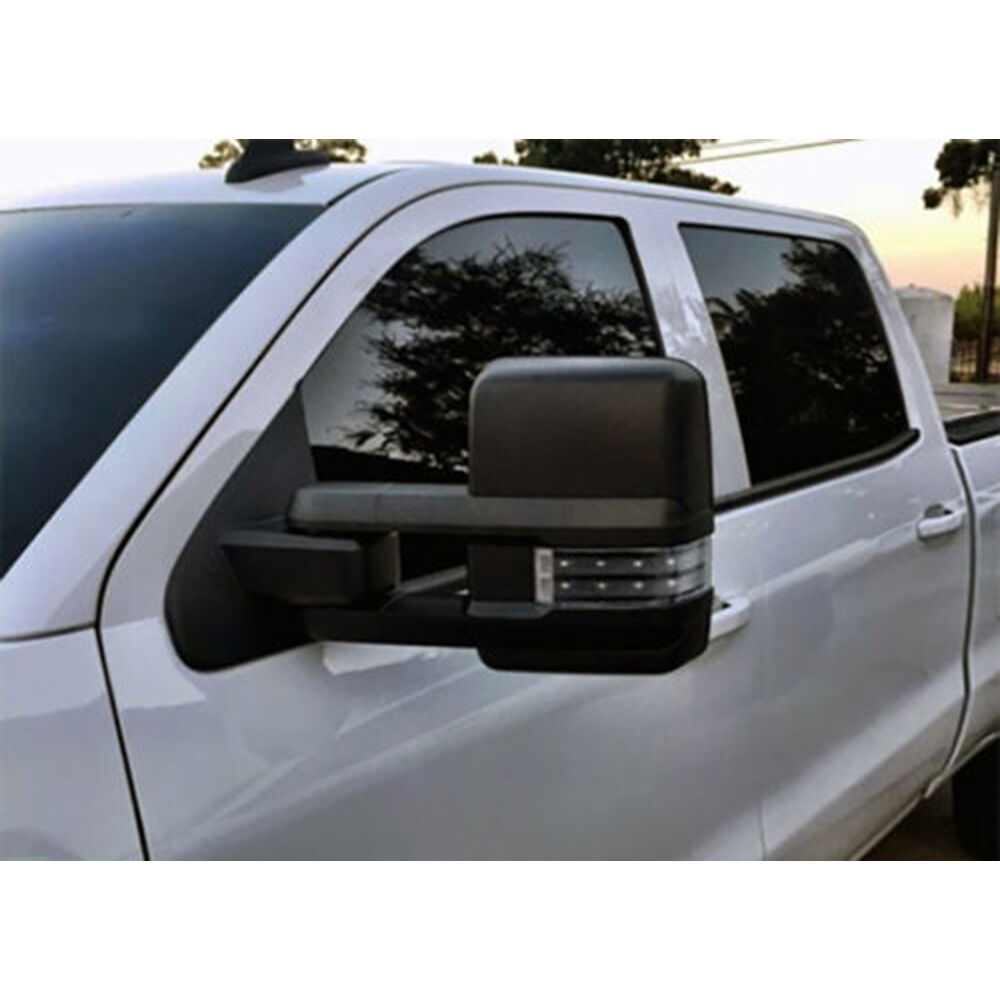 03 06 Silverado Sierra Towing Power Heated Mirrors Smoke