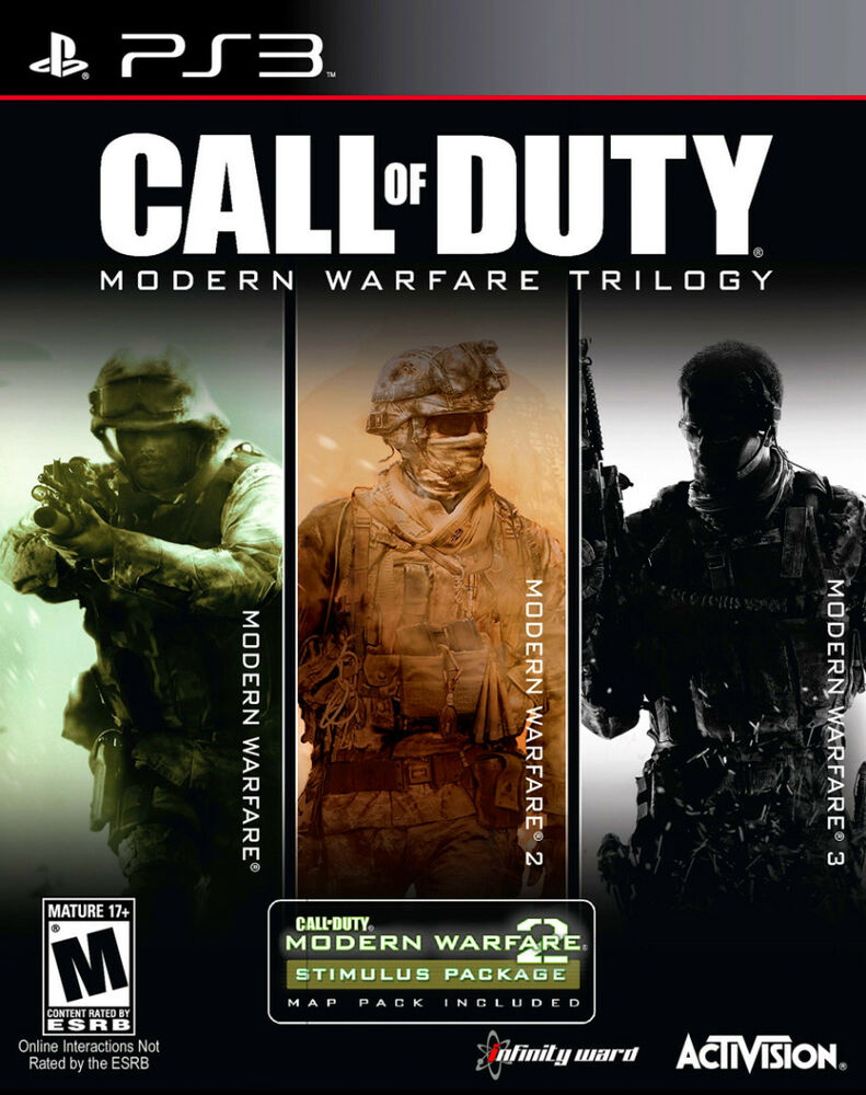 Call of Duty Modern Warfare Collection -PlayStation 3 Video Games action Ps3 NEW 47875878075 | eBay