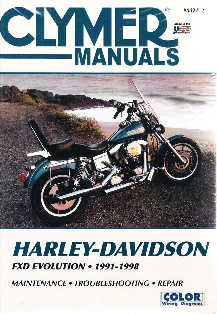 s l1000 1991 1998 harley fxd wide glide dyna low rider repair service shop