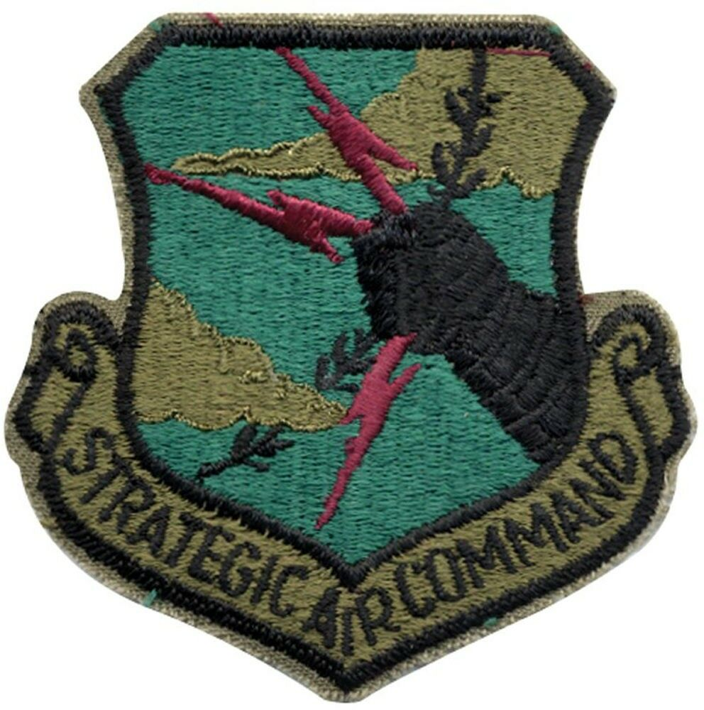 military patch template - united states air force strategic air command cold war