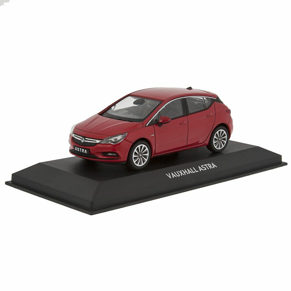 vauxhall astra k 2016 brand new model car 1 43 power red official vauxhall ebay. Black Bedroom Furniture Sets. Home Design Ideas