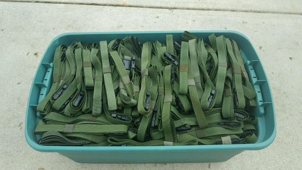 Military Lashing Strap Molle Cargo Alice Pack Tie Down 5 Foot Ebay