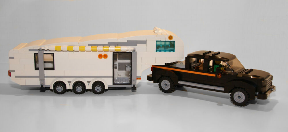 Lego Instructions To Build A Custom 5th Wheel Camper