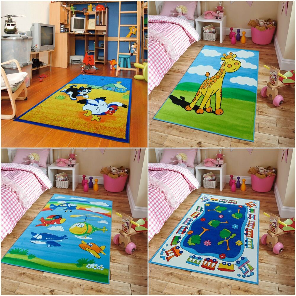 Educational Rugs Cheap: Kids Area Rug Kids Rugs 5x7 Playroom Rugs Classroom Rug