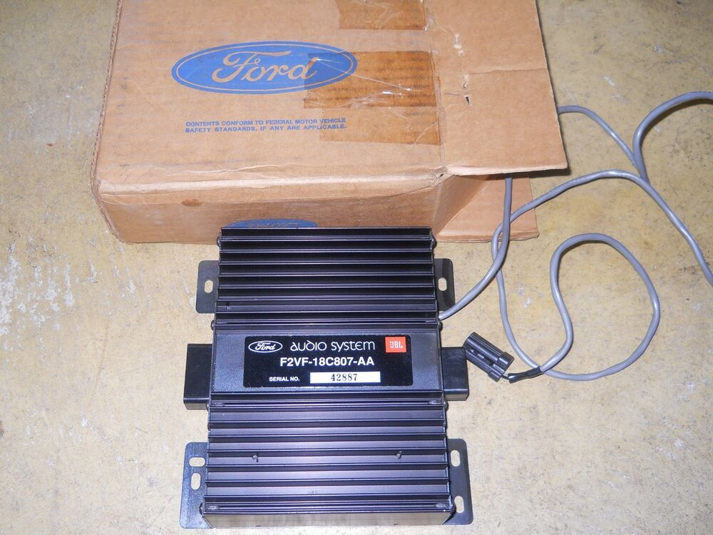 ford radio amplifier ebay