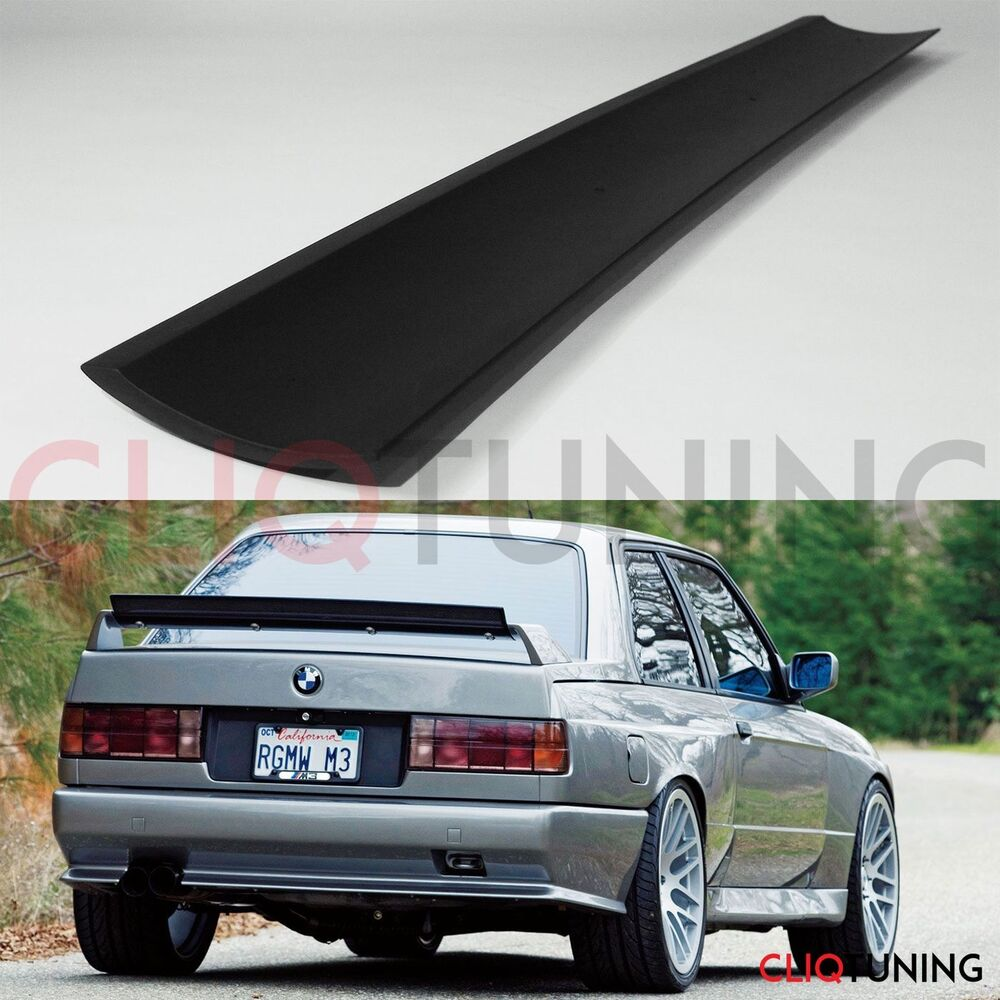 Bmw E30 M3 Engine Number: UNIVERSAL GURNEY FLAP (trunk Spoiler Addon Ducktail Lip