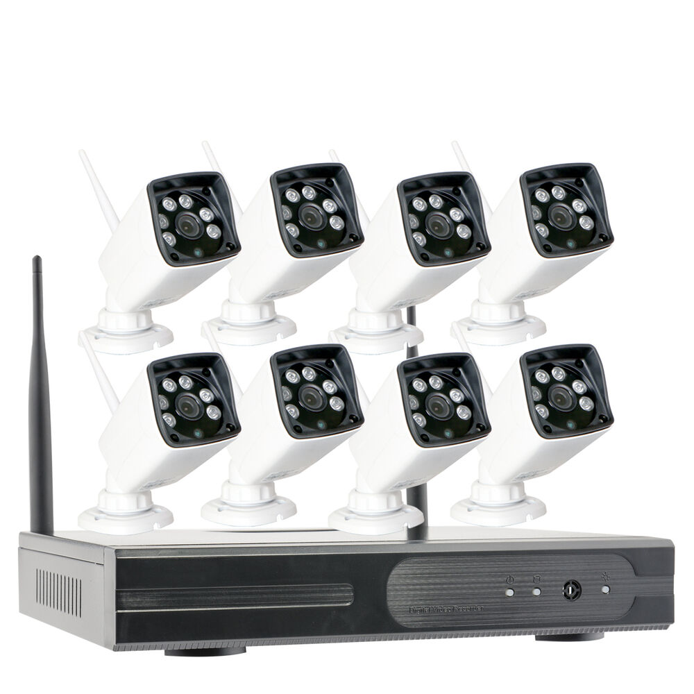 Hd1280 960p Home Outdoor Wireless Security Ip Camera System With Night Vision Ebay