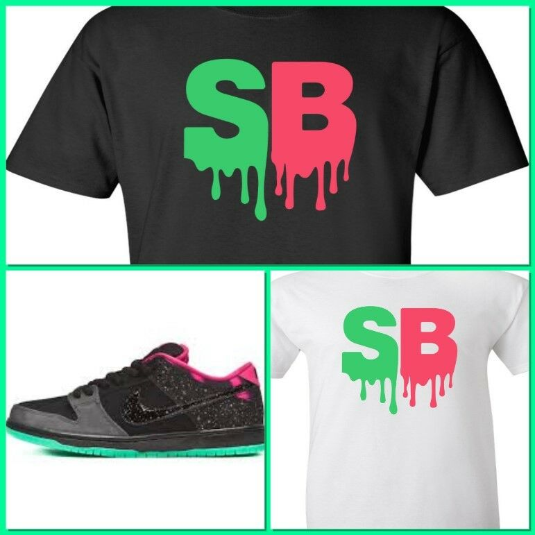 8ea70d2b5610 Details about EXCLUSIVE TEE   T-SHIRT DESIGN TO MATCH NIKE SB DUNK NORTHERN  LIGHTS!
