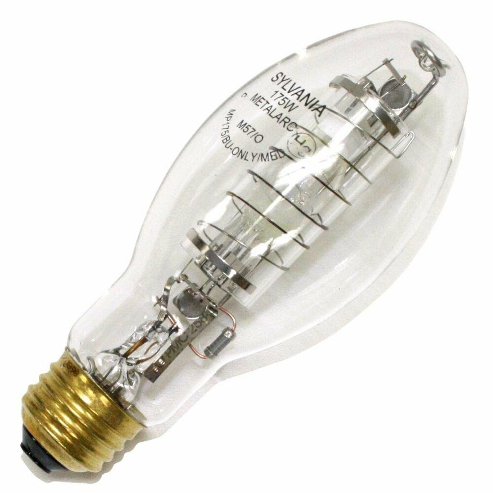 Sylvania 64733 175 watt ed17 metalarc pro tech metal halide protect ebay Sylvania bulbs