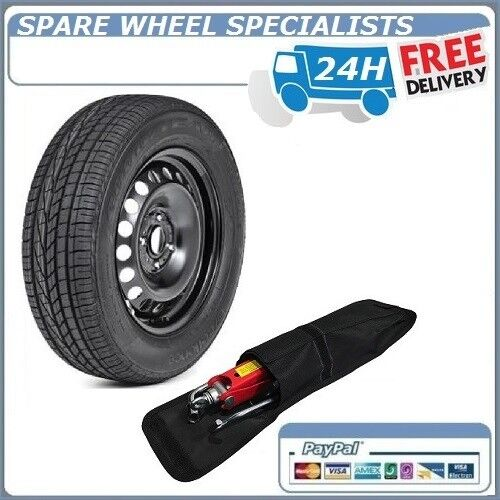 """PEUGEOT 3008 2008-2016 16"""" FULL SIZE STEEL SPARE WHEEL AND"""