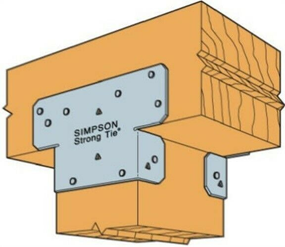 Simpson Strong Tie Ac6 West Ac6 6x6 Twin Post Cap No Ac6