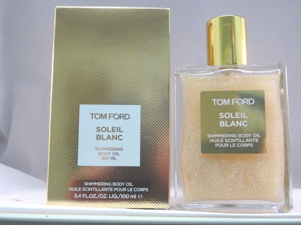 tom ford soleil blanc shimmering body oil 3 4 oz 100 ml. Black Bedroom Furniture Sets. Home Design Ideas