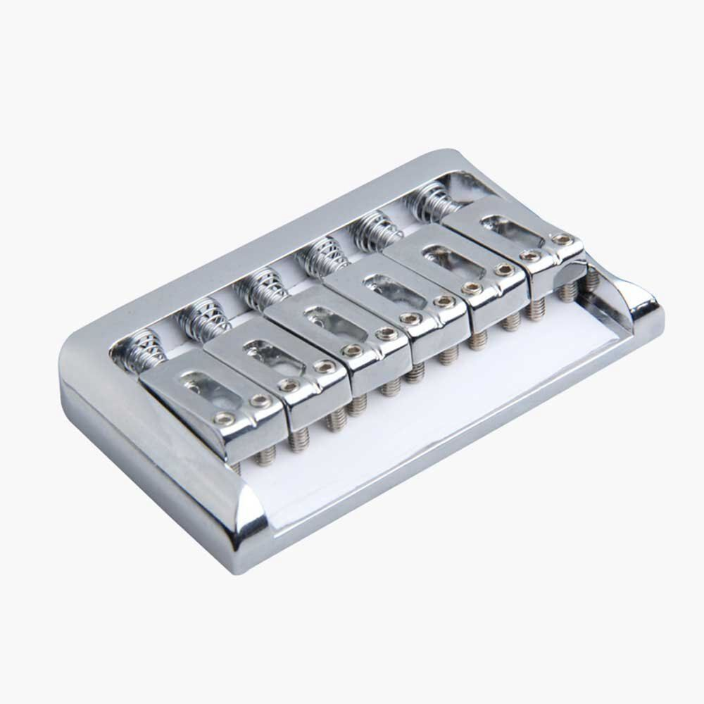 hardtail chrome top load electric guitar fixed bridge with wrench screw ebay. Black Bedroom Furniture Sets. Home Design Ideas
