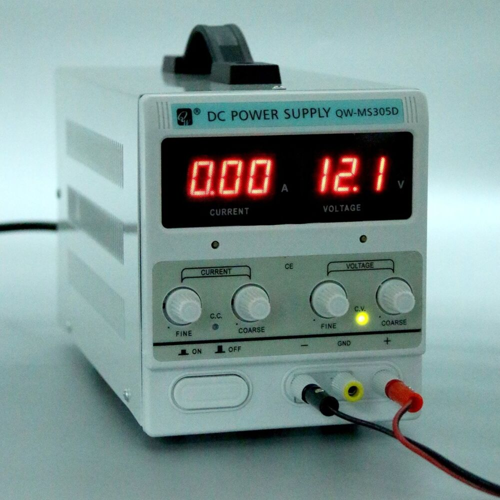 Yaetek Variable Adjustable Lab Dc Bench Power Supply 0 30v