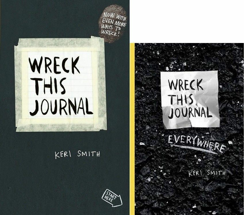 wreck this journal wreck this journal everywhere by keri