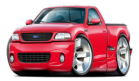 Ford Lightning Svt Truck Wall Graphics Decals Stickers