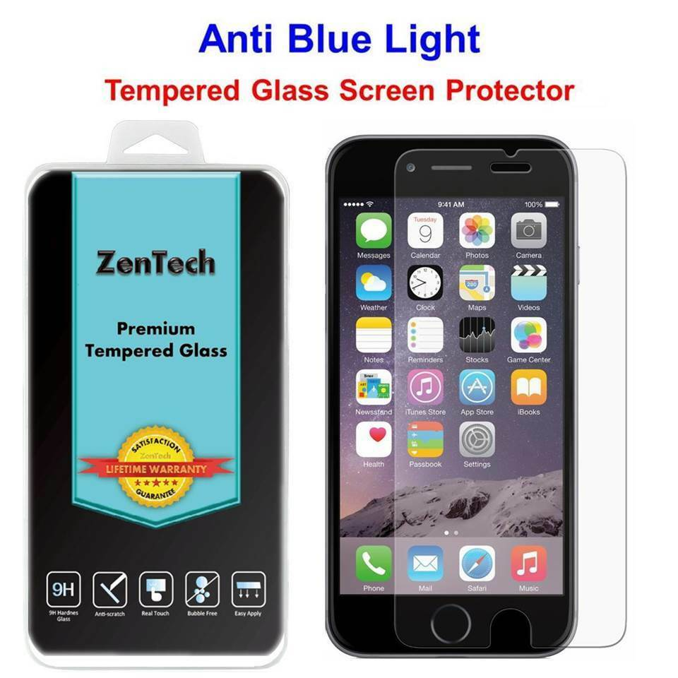 2x tempered glass anti blue light screen protector guard. Black Bedroom Furniture Sets. Home Design Ideas