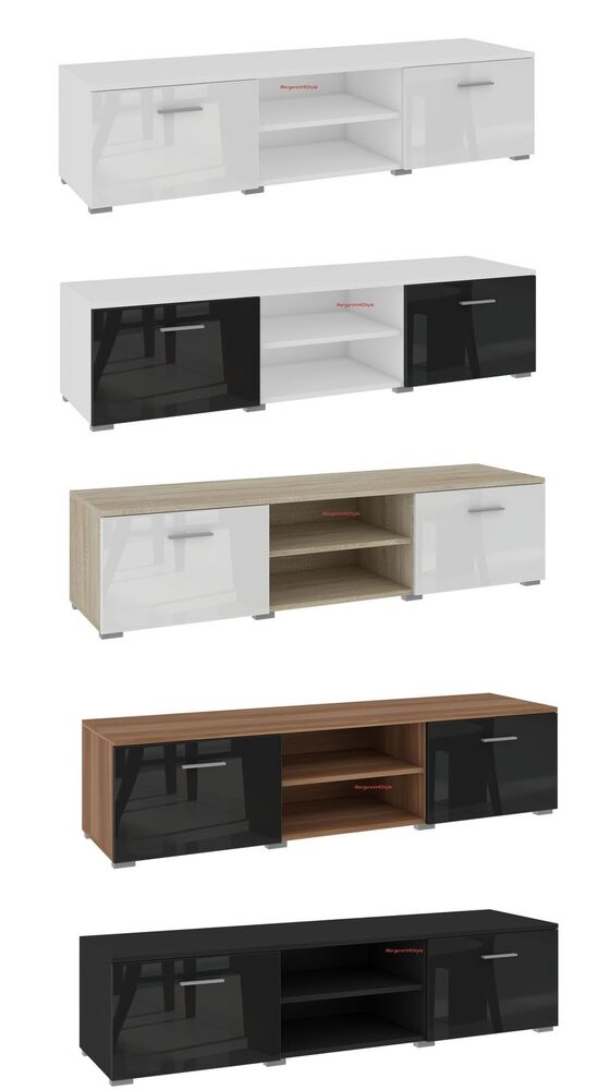 tv schrank lowboard sideboard 120 cm f rderung ebay. Black Bedroom Furniture Sets. Home Design Ideas