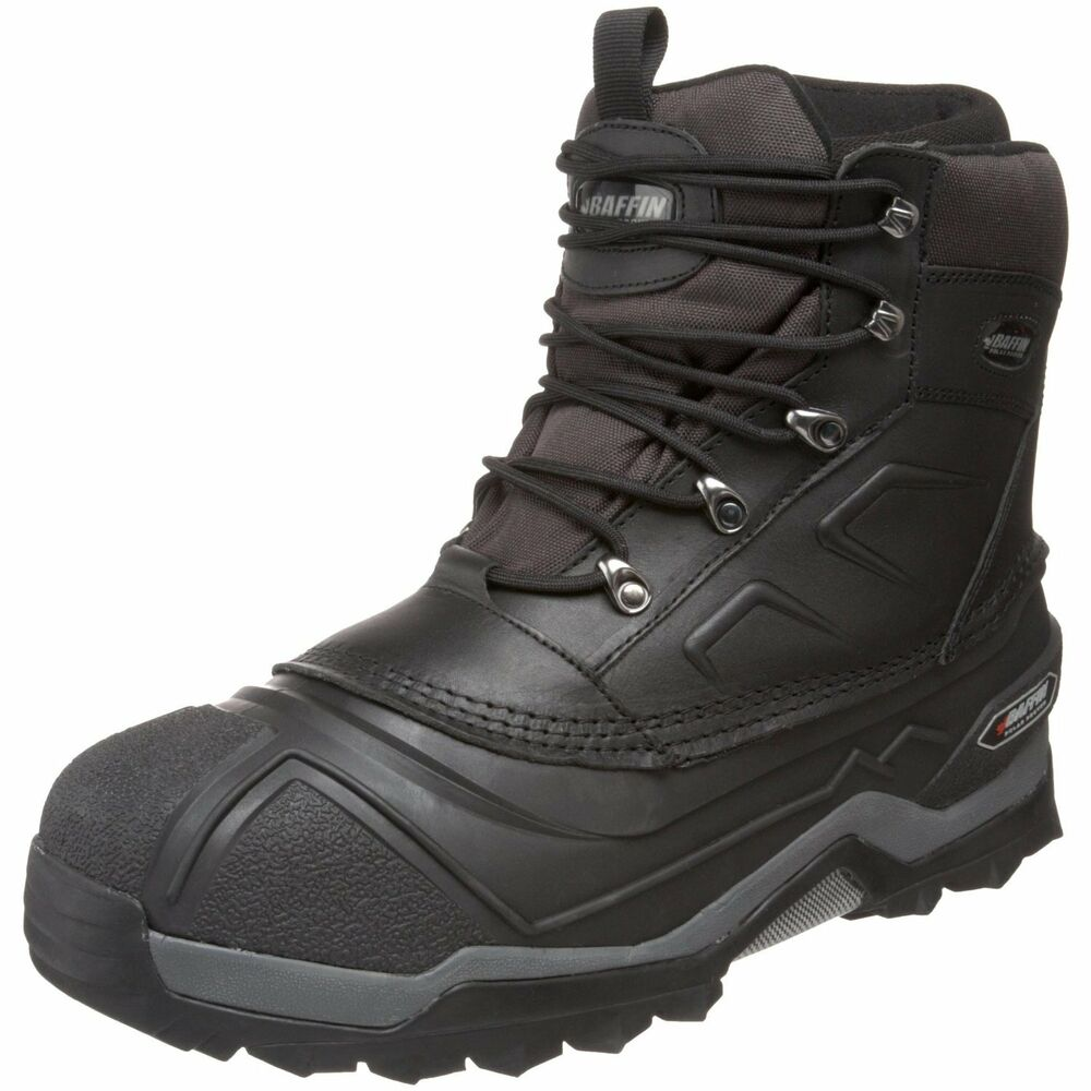 s baffin terrain black leather 76 degree insulated