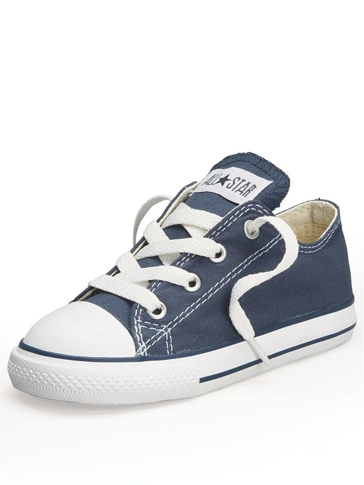 Converse Chuck Taylor Star Ox Navy White Infant Toddler