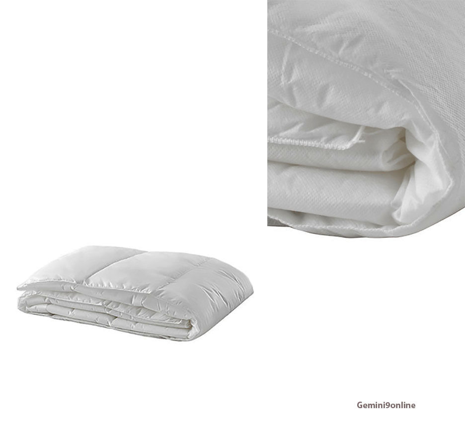 Ikea comforter cooler full queen myskgras duvet cover for Ikea sheets review