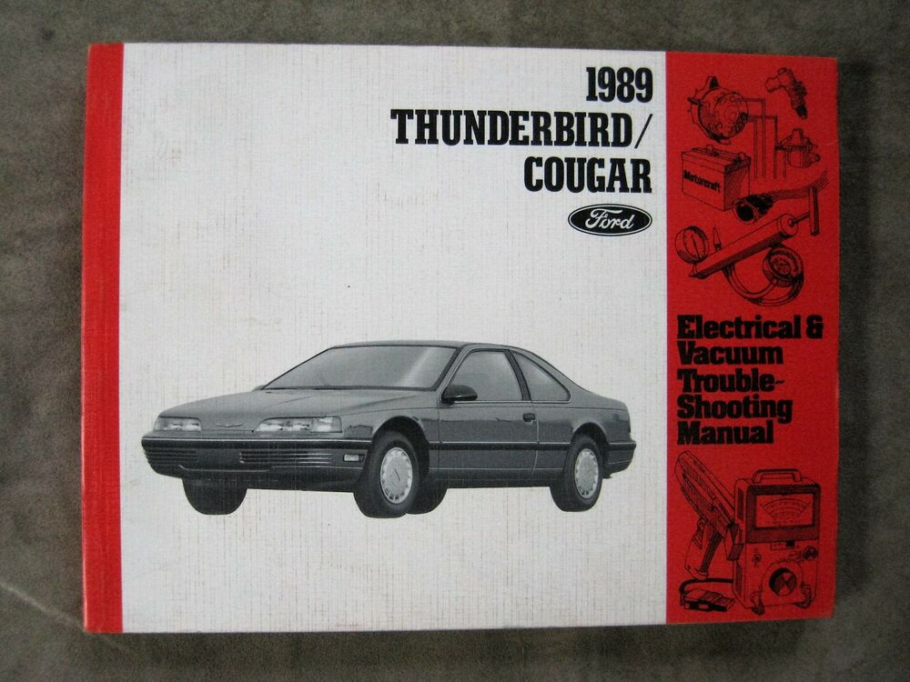 1989 Ford Thunderbird Cougar Wiring Diagram Electrical