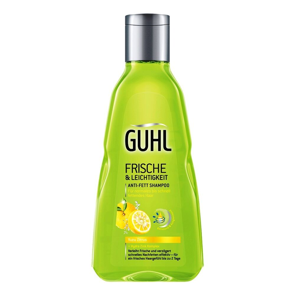 2196 L 85oz Guhl Fresh Ease Anti Fat Shampoo Yuzu Citrus