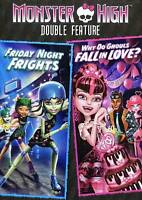 MONSTER HIGH FRIDAY NIGHT FRIGHTS / WHY DO GHOULS FALL IN LOVE DVD KIDS