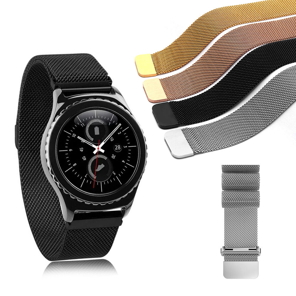 magnetic stainless steel watch band milanese strap for s2 s3 classic huawei ebay