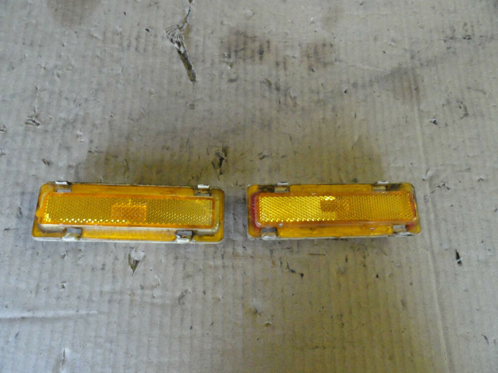 1982 1992 camaro iroc z 28 formula firebird trans am front turn signal set ebay. Black Bedroom Furniture Sets. Home Design Ideas