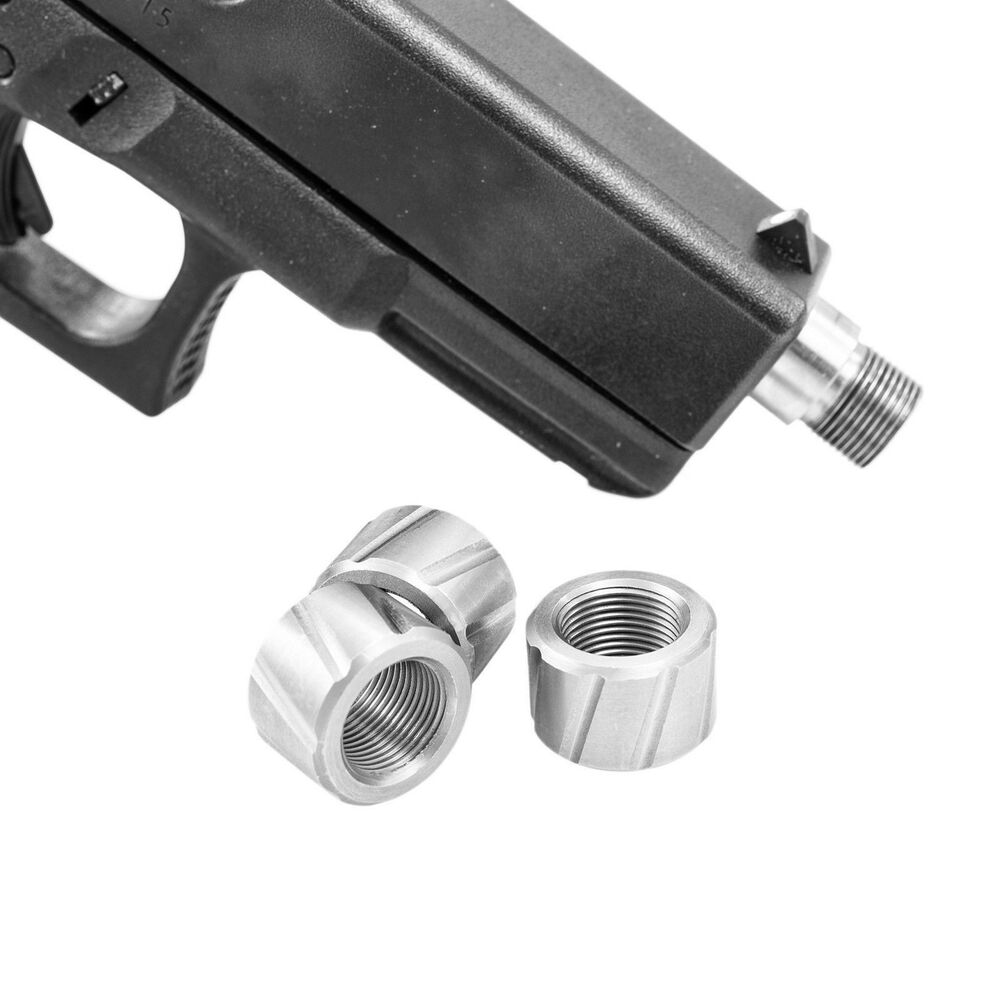 Fp custommuzzlebrakes glock mm stainless steel