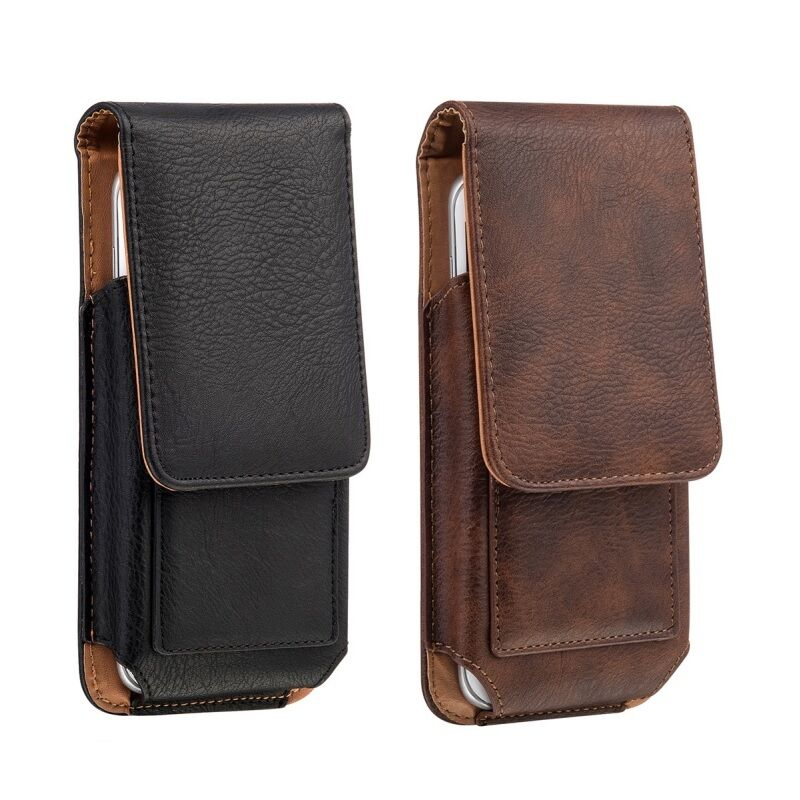 cell phones vertical carrying leather pouch cover