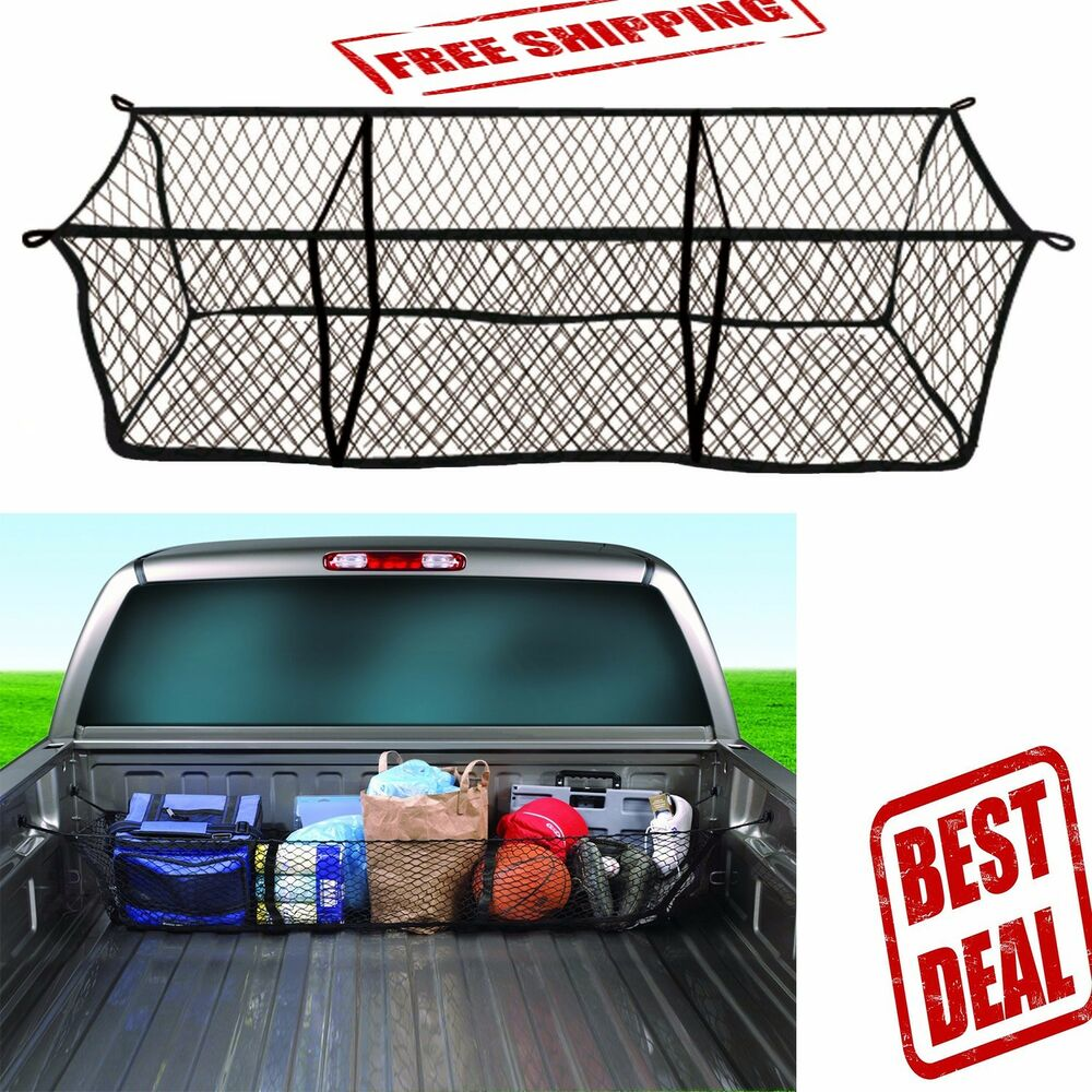 Car Auto Storage Cargo Net Trunk Organizer Collapsible Foldable Bag Truck Suv | eBay