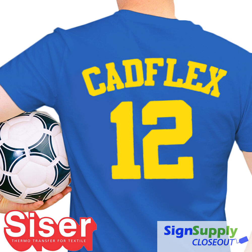 Heat Transfer Vinyl Siser Cadflex For Tshirt Cutter Heat