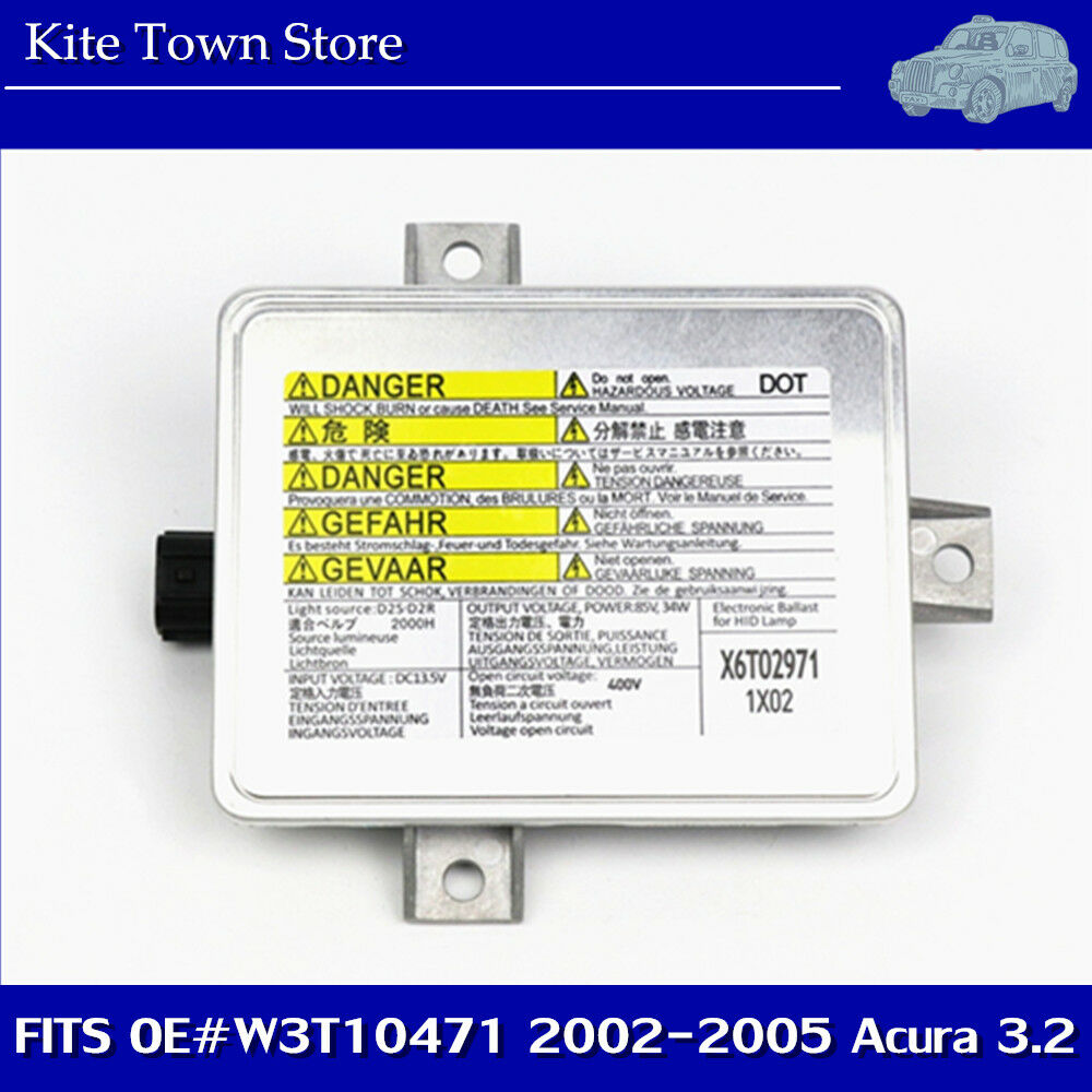 Fs 2006 Acura Tl Part Out: Xenon Ballast HID Headlight Assembly Unit For 2002 2003