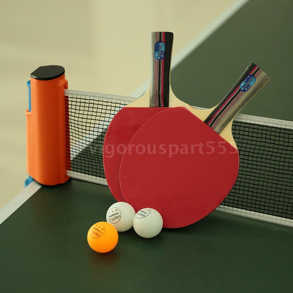 new stiga classic 1 pair of ping pong paddles 3 balls racket 1 net set vs o4k8 ebay. Black Bedroom Furniture Sets. Home Design Ideas