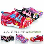 Flower Canvas Shoes Girls Infant Toddler Little Kid Baby Soft Sole Stick Lace